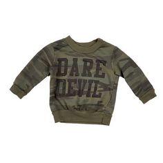 Dustin Spruce Dare Devil Sweatshirt Baby