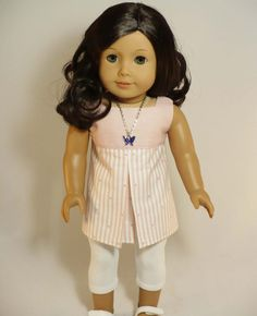 Hey, I found this really awesome Etsy listing at https://www.etsy.com/listing/156825664/american-girl-18-inch-doll-outfit-pink