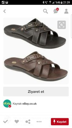 Men's Leather, Leather Sandals, Men's Sandals, Man Shop, Men Sandals,  Leather Men