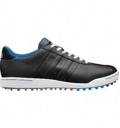 Great Incredbly adidas Men's adicross II Golf Shoe - Black/Blue #golfshoes,  #adicross #adidas #black #golf #golfhumor #golfoutfitswomen #GolfShoesMen #GolfShoeswomen #golftips #golfshoes #incredbly #ladiesgolf