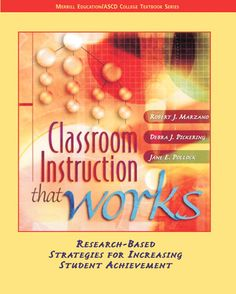 Another great book by Marzano