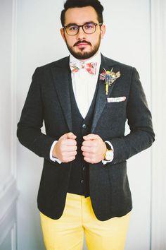 Shooting : Heureux mariage de couleur | Photographe : Hé! Capture | Donne-moi ta main - Blog mariage