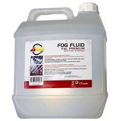 ADJ Premium 4 Liter Container of Water-Based Fog Fluid Plastic Bottle Design, Event Decor Direct, Snow Machine, Laser Show, Dj Gear, How To Make Light, Bubbles, Special Effects, Water