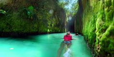 Absolutely stunning underground river! Can't wait to be in this water!