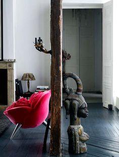 Joséphine Gintzburger's Paris apartment.