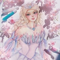 Barbie Dvd, Barbie Movies, Pretty Art, Cute Art, Barbie Drawing, Bendy And The Ink Machine, Princess Style, Dance Art, Disney Drawings