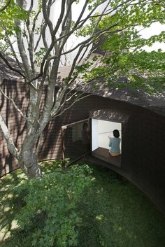 13 Stunning Inner Courtyards,Museo Roku / Hiroshi Nakamura & NAP . Image © Masumi Kawamura
