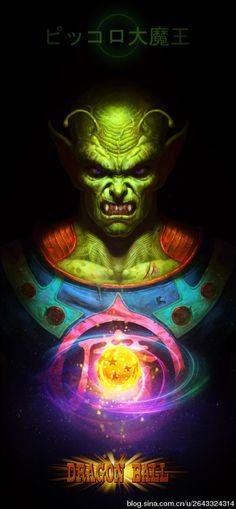 FanArt Dragon Ball - Piccolo - By Angus
