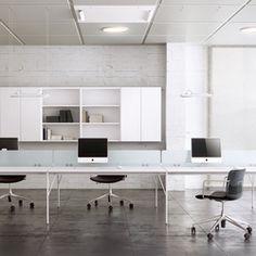 Desking systems-6-persons workstations-Desk systems-Feel Workstation-ARLEX design
