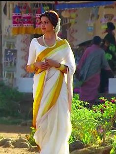 deepika padukone in kerala saree in chennai express - Google Search