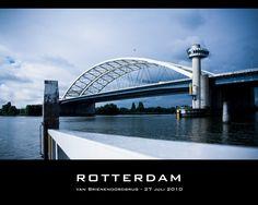 Van Brienenoordbrug, Rotterdam.