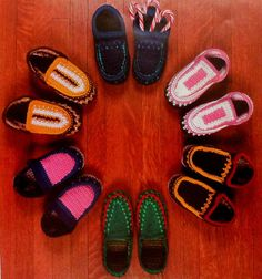 6 Women's Slipper Crochet Patterns