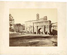 Arco di Settimio Severo (1870)