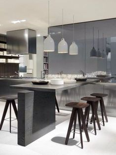 modern kitchen interior TWELVE by Varenna - Carlo Colombo -
