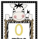 Decorate your jungle themed classroom with these number posters....