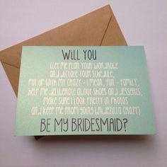 c12bed0ef4adf40ed41d43dca8d02544 bridesmaid cards be my bridesmaid funny maid of honor card cute bridesmaid invitation asking,Unique Bridesmaid Invitations