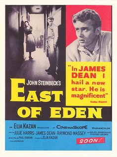 an overview of the optimistic film east of eden by john steinbeck Imagine if this were in comic sans is a collection of poems that acts as an exploration of scripted womanhood and sexuality as well as an examination of the physical.
