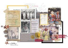Sketchbook Layout, Sketchbook Inspiration, Fashion Portfolio Layout, Portfolio Design, Collage Vintage, Vintage Posters, Process Art, Design Process, Concept Board