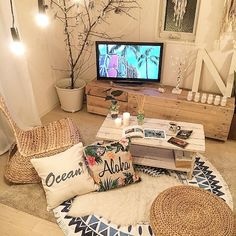 - Best ideas for decoration and makeup - Living Room Decor, Bedroom Decor, Deco Studio, Interior Decorating, Interior Design, Dream Rooms, My Room, Room Interior, Home And Living