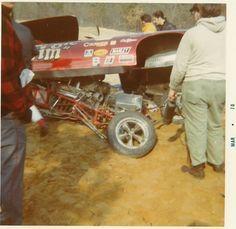 Jungle Jim Funny car wreck