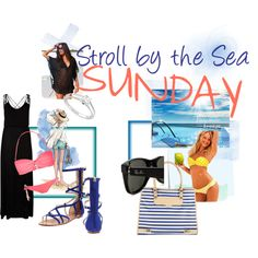 """""""Stroll by the Sea SUNDAY"""" by soo-kimberley-noh on Polyvore"""