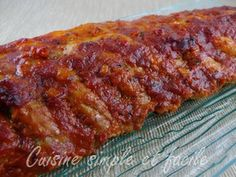 marinade barbecue 01 Marinade Porc, Marinade Sauce, Actifry, One Pot Meals, Vinaigrette, Meatloaf, Tapas, Cooker, Chicken