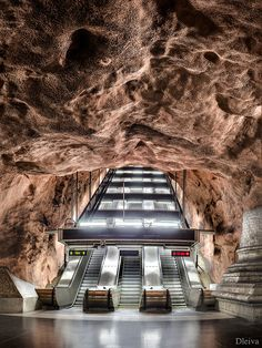 Rådhuset Line, Stockholms tunnelbana, Sweden
