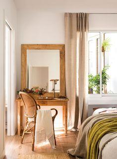 Как в загородном доме: просторная квартира в Барселоне   Пуфик - блог о дизайне интерьера