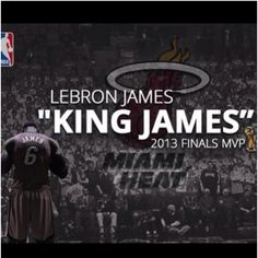 King James MVP two years straight ✌