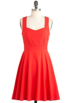 I Love You Back Dress, heart open back adorable #ModCloth