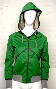 Nike Womens X Undercover Gyakusou Convertible Running Jacket Size Medium/S GREEN #Nike #CoatsJackets