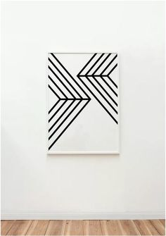Black and white geometric artwork from The Artwork Stylist l Salt & Pepper on Salt: