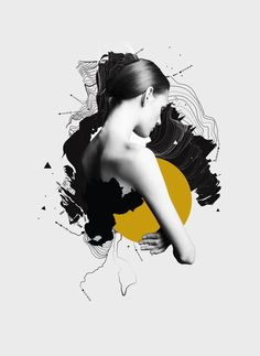 Another graphic experimentation series by Bloodyloud favorite digital artist Anthony Neil Dart. via Behance