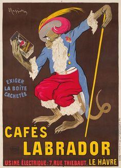 Leonetto Cappiello, Cafes Labrador