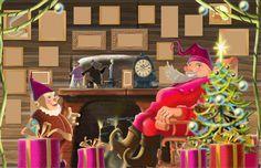 Papunetin joulukalenteri Preschool Christmas, Elf On The Shelf, Birthday Candles, Holiday Decor, Kindergarten Christmas