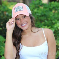 Preppy Arrow Trucker Hat | Lakeside Cotton