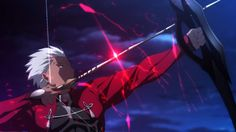 Archer from Fate Stay Night Unlimited blade Works goes agaisn't the another allmighty Archer. Final Fantasy X, Dark Fantasy, Fate Zero, Sword Art Online, Online Art, Assassin, Fate Archer, Archer Emiya, Mirai Nikki Future Diary