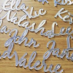 Cut place names! Mirrored Perspex! #jld #new #perspex #mirror #cutnames #placenames #escortcards #weddings #weddingdecor #weddings #weddinginspiration #etsy #etsyseller #etsyhunter #etsyhunt #etsymntt #order #handmade #instagood #instagram #cool