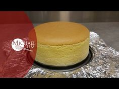 Japanese Cheese Cake (remake) - YouTube