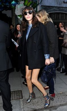 I only like the shoes. Those shoes! (worn by Alexa Chung)
