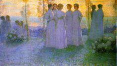 The Athenaeum - Sunday (Henri Le Sidaner - No dates listed)