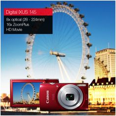 The Canon IXUS 145 is the perfect camera for all occasions and comes with an easy to use functionality that allows beginners to click stunning shots anywhere!: http://www.imagestore.co.in/canon-digital-ixus-145-camera.html