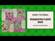 Moda Hunky Dory charm pack quilt using disappearing 9 patch quilt blocks tutorial – Sewn Up Beginner Quilt Patterns, Quilting Tutorials, Quilting Designs, Quilting Tips, Sewing Tutorials, Disappearing Nine Patch, Nine Patch Quilt, Charm Pack Quilts, Charm Quilt