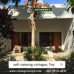 Self catering is the cheapest mode of accommodation in all lodging categories. True or false? What's your experience? Self Catering Cottages, Color Collage, White Bedding, One Bedroom, Bed And Breakfast, Great Places, Rustic Decor, Contemporary Design, Swimming Pools