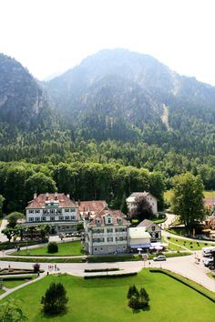View from Hohenschwangau Castle, Germany