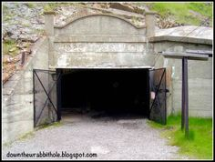 The entrance to the Bellevue Mine in the Crowsnest Pass, Alberta, Canada. Outdoor Supplies, Canada Eh, Coal Mining, Beautiful Places In The World, Alberta Canada, Ghost Towns, Canada Travel, Rocky Mountains, Calgary