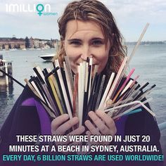 Skip the straw!