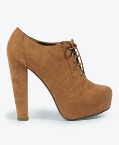Lace-up booties $29.80