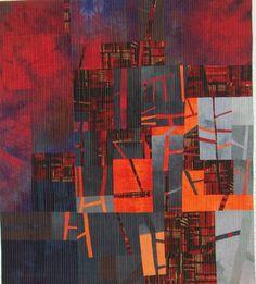 Manhattan Sunset by Bärbel Lehrke. Marions Art: BODENSEE QUILTFESTIVAL - LAKE CONSTANCE QUILTFESTIVAL.