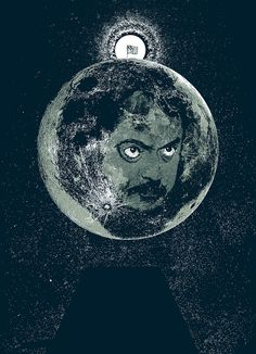 Limited edition Stanley Kubrick 2001 Moon Landing Hoax by bmethe, $20.00